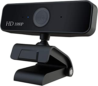 USB Web Camera 1080P/720P HD 5MP Computer Camera Webcams Built-in Sound-Absorbing Microphone 19201080 Dynamic Resolution (Auto Focus 1080P1)
