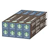 Starbucks Espresso Roast By Nespresso Dark Roast Coffee Capsules, 80 Capsules (8 x 10)