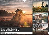 Das Muensterland - Meine Impressionen (Wandkalender 2022 DIN A4 quer): Meine schoensten Motive aus dem Muensterland (Monatskalender, 14 Seiten )