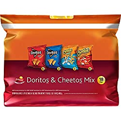 Frito-Lay Doritos & Cheetos Mix Variety Pack, 18 Count