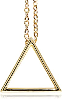 Best gold triangles necklace Reviews