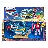 "Prince Adam Sky Sled & Figure Masters of the Universe Retro Action Figure Set 5.5"""