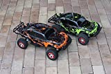 2pk Combo Set Custom Body Muddy Orange and Green Compatible for 1/10 Slash 4x4 VXL 2WD Slayer RC Car or Truck (Truck not Included) SSB-RG-02