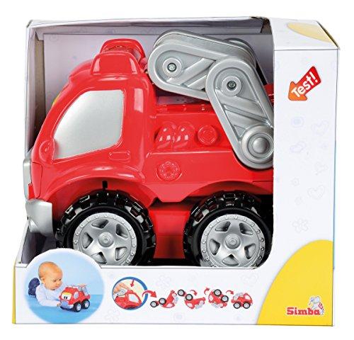 Simba - 104011699 - Camion de Pompiers à Tonneaux - ABC