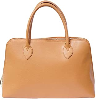 FLORENCE LEATHER MARKET Borsa a mano in pelle donna 40x12x28 cm - Giulia Gm - Made in Italy