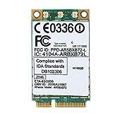 Heayzoki Tarjeta de Red inalámbrica, AR5BXB72 300M Mini-PCI-E Tarjeta de Red de Doble Banda, para IBM Atheros AR5BXB72 ar5008 Mini Tarjeta PCI-E para Lenovo/IBM T60/T61 42T0825