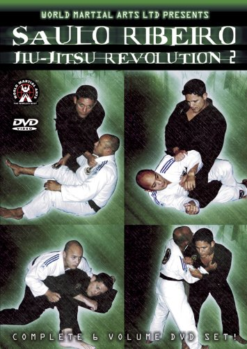 Saulo Ribeiro - Jiu-Jitsu Revolution Series 2, 6 Volume set