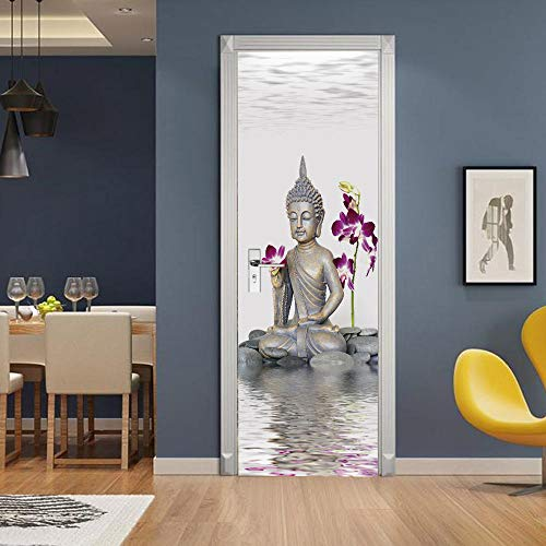 3D Mural puerta Fondo pantalla cristal poster paisaje armario Decoración Hogar...