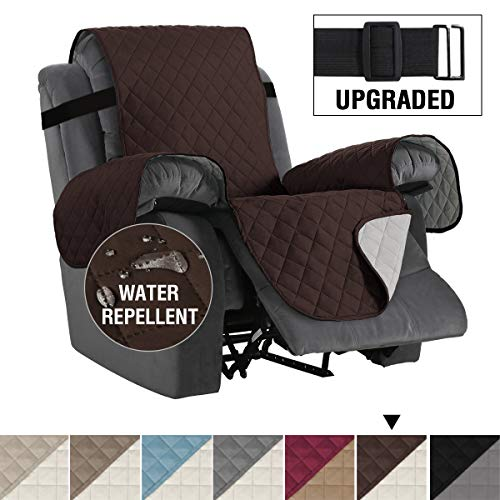 H.VERSAILTEX Reversible Recliner Cover Recliner Slipcover Recliner Furniture Protector 2' Elastic...