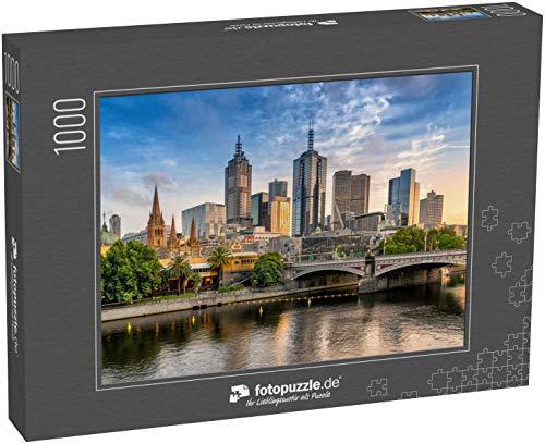 Puzzle 1000 Teile Melbourne CBD -...