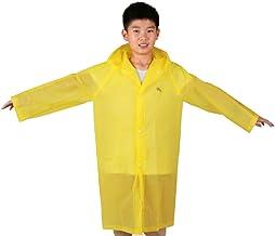 Garneck Kinderen regenjassen Kids regenjas herbruikbare regenjas met capuchon hoed en mouwen regenmantel perfect voor outd...