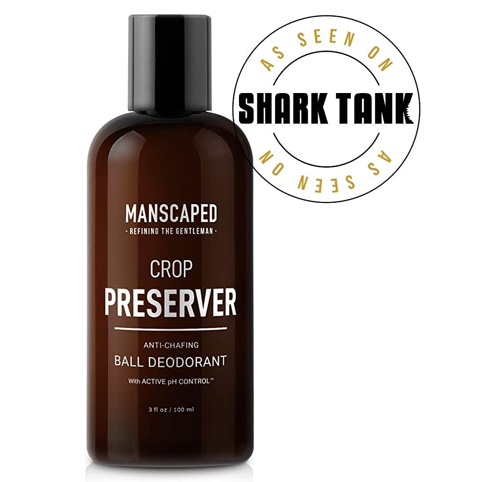 Manscaped Men's Ball Deodorant, Male Care Hygiene Moisturizer, The Crop Preserver, Anti-Chafing Groin Protection With Active pH Control and Cooling Aloe Vera Deodorant czxccspu786
