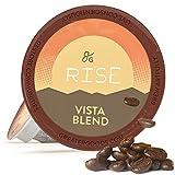 GreaterGoods K Cups Coffee Dark Roast (72 Count) For Keurig Coffee Maker K-Cup Replacements, Vista Blend Eco Safe Coffee Pods (Dark Roast Vista Blend)