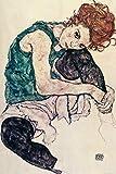 1art1 Egon Schiele - Die Frau des Künstlers, Sitzende