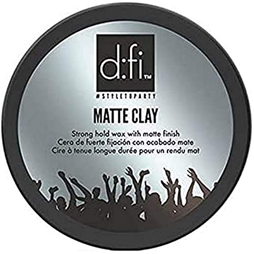 D:FI MATTE CLAY Haarwachs Kräftiger Halt - Mattes Finish, 150g