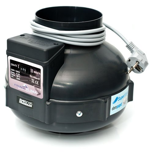 Extractor de aire UFO RVK Prima Klima 160-280 m³/h 100mm (PK100 MES-2)