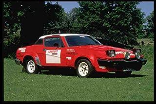 Metal Sign 354025 Triumph Tr7 V8 Rally Car 1980 A4 12X8 Aluminium