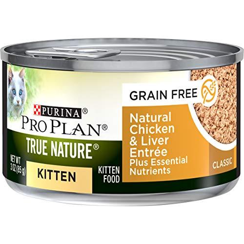 Purina Pro Plan Grain Free Natural Pate Wet Kitten Food   Chewy