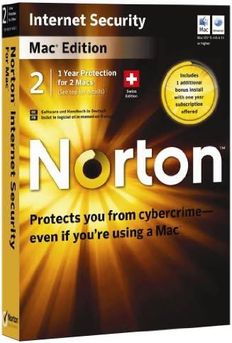 Norton Internet Security MAC 4.1 - 1 User 2 Machine [import anglais]