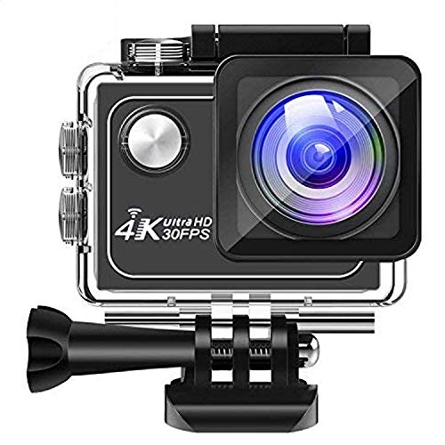 Panlelo V1 Sports Camera Sport Recorder Underwater Camera Car Extreme Camera Action Camera DV Camcorder 173 Degree 16MP 4K 30FPS Wide Angle Large len WiFi 7 Layer Glass HD Waterproof Underwater 30M