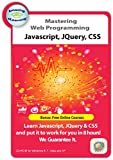 Learn JavaScript, JQuery and CSS Web Programming & Style CD Training Course