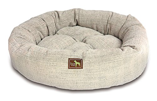 Luca For Dogs Nest Dog Bed, Small 26'x26'x7',...