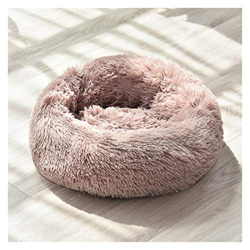 BZRXQR Cama para Mascotas, Cama de muñeca de Peluche del Perro El Nido de Mascotas tranquilas es súper Suave y Esponjoso, Adecuado para Perros Grandes/nidos de Gatos para Mascotas