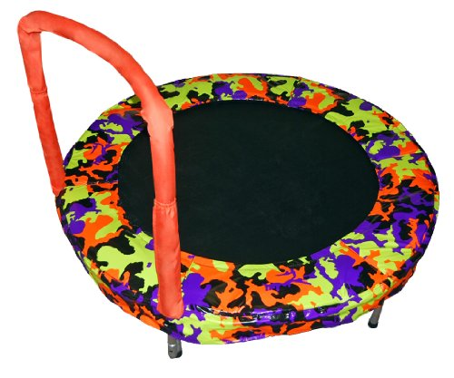 Lowest Price! Bazoongi Bouncer Trampoline, 48-Inch, Camouflage Orange