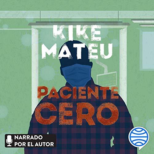 Diseño de la portada del título Paciente cero