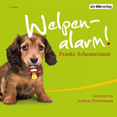 Welpenalarm audiobook cover art