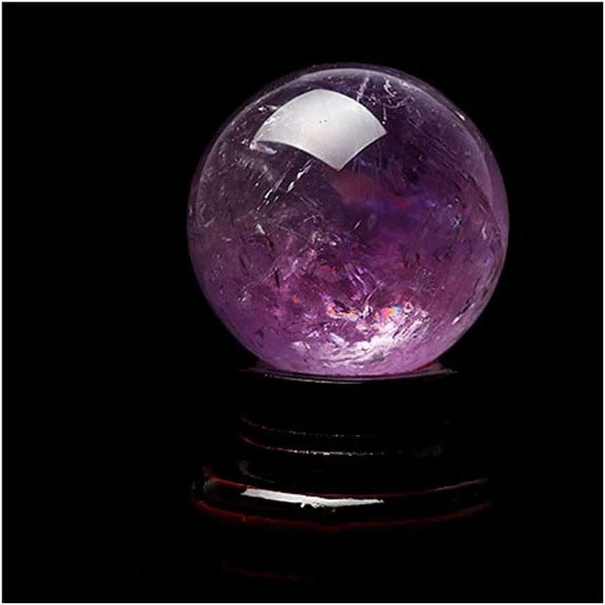 xilinshop Max 61% OFF Fortune Telling Ball Amethyst Natural Stone Rough low-pricing