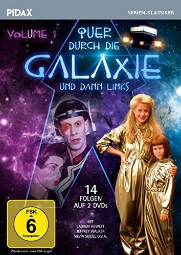 Quer durch die Galaxie und dann links, Vol. 1 / Die ersten 14 Folgen der erfolgreichen Science-Fiction-Serie nach dem Roman von Robin Klein (Pidax Serien-Klassiker) [2 DVDs]