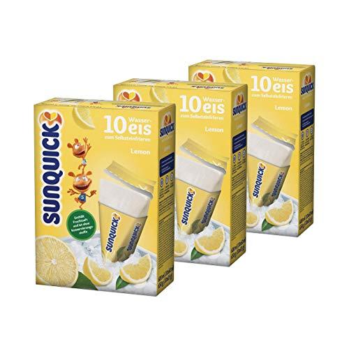 Sunquick Zitrone Wassereis 3er Pack 3x600ml