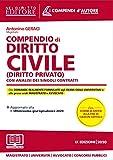 Compendio di diritto civile (diritto privato) con analisi completa dei singoli contratti. ...