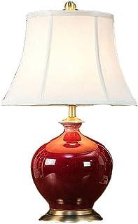 JEONSWOD Chambre élégante lampe de chevet, également utilisé for Salon Side Table Table basse et éclairage Décoration E27