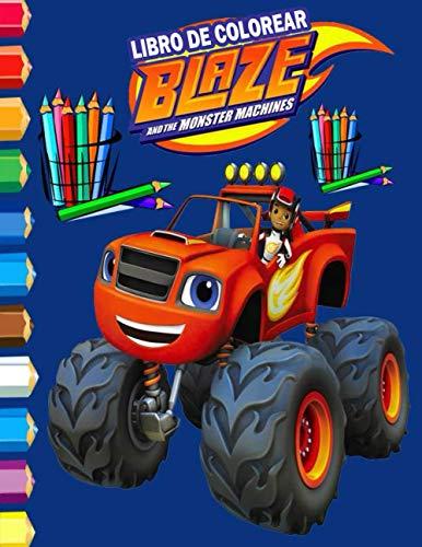 Blaze and the Monster Machines libro de colorear: Maravilloso libro para colorear