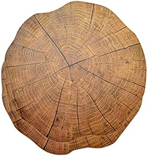 ZHUGUOJIA Bamboo pot mat 2Pcs Tableware Pad Wood Placement Table Mats Dining Tableware Pad Lotus Shape Tea Cup Bowl Decora...