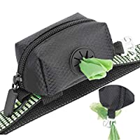 🐶【Free your hands】MalsiPree dog poo bag dispenser adds an alloy hook to hang the waste bags with feces or deposits, totally hands-free when walking, running and hiking with your dog. 🐶【Attach to Any Leash】The poo bag holder go with two elastic attach...