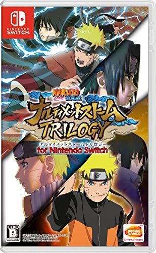 Bandai Namco Naruto Shippuden Ultimate Ninja Storm Trilogy NINTENDO SWITCH JAPANESE IMPORT REGION FREE