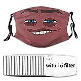 Nasculi The Sensual Cushion Wiederverwendbare Anti-Staub-Gesichts, Mehrteiliger Filter, Mit...