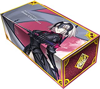 Fate Grand Order Jalter Avenger Jeanne d`Arc Alter Neo Card Game Character Storage Box Case Holder w/Dividers Anime Art Collection