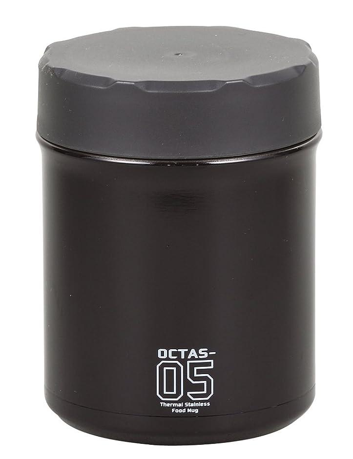 ショッキング寄付する幅パール金属 保温ランチジャー グレー 500ml フードマグ オクタス HB-3773