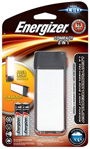 Energizer E300460900 LINTERNAS Emergencia, Negro, 11.6 x 4.3 x 1.8 cm ⭐