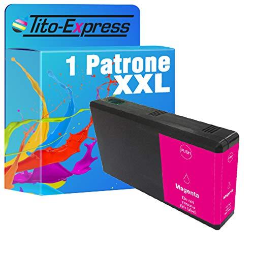 Tito-Express Cartucho ProSerie 1 compatible con Epson T7901-T7904 79 XL con 25 ml de capacidad XXL WF-3800 WF-4800 WF-3820 DWF WF-3825 DWF WF-4820 DWF WF-4830 DTWf
