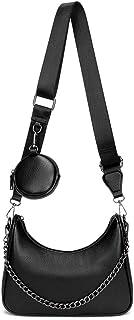 Crossbody Hobo Handbags for Women, Multipurpose Soft Shoulder Bag with Small Coin Purse