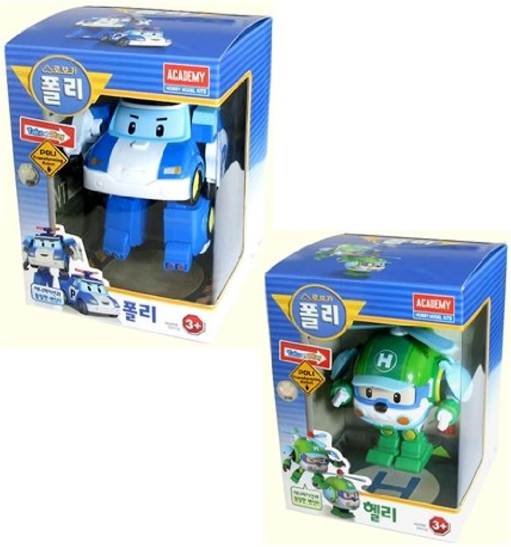 Robocar Poli Poli + Helly Transforming Robot Toy