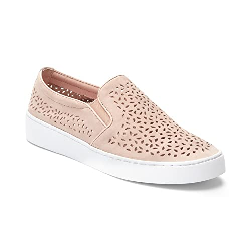 48a5fcb16cb Vionic Women s Splendid Midi Perf Slip-on - Ladies Sneakers with Concealed  Orthotic Arch Support