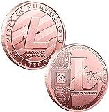 DFCYCCFL 1PCS Copper Litecoin Commemorative...