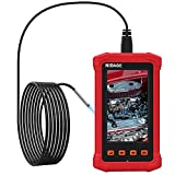 3.9MM Industrial Endoscope with 4.3inch Full-View Screen, 1080P HD Borescope Automotive Engine, Pipe Inspection Camera, 2800mAh Battery, 8GB Card and Tool Box (5FT)