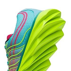 ALEADER Women's Running Shoes Fashion Walking Sneakers Pink 8.5 D(M) US